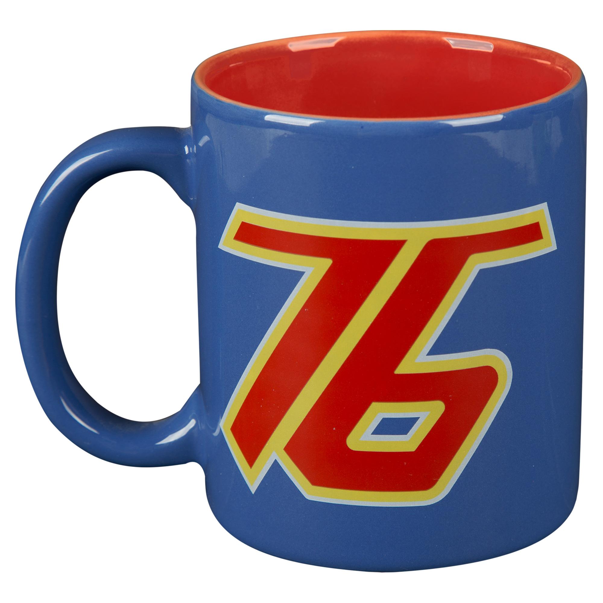 Overwatch Soldier: 76 Ceramic Mug, Blue